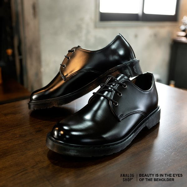 Analog Derby Shoes